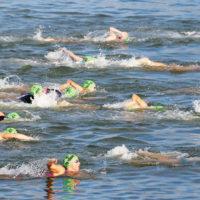 Locals take out triathlon