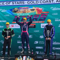 Podium finish for Grafton kart racer