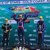 Podium finish for Grafton kart racer